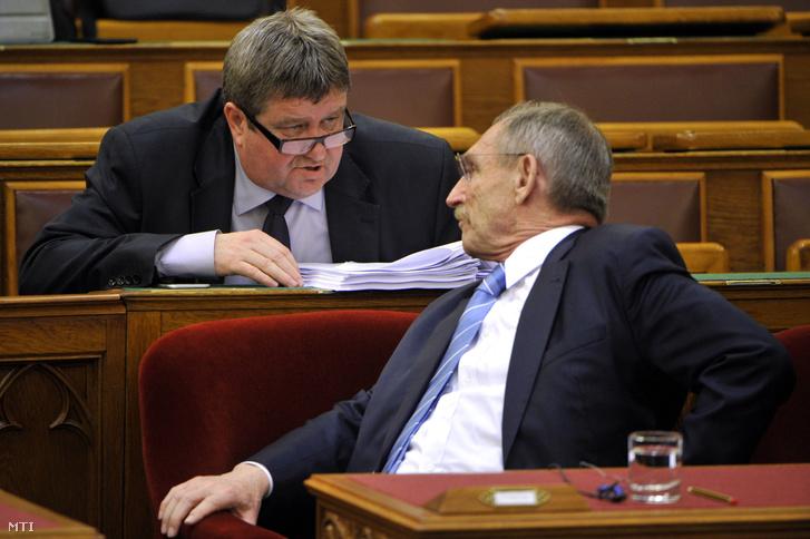 Tállai András és Pintér Sándor