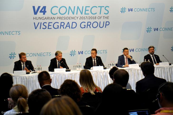 A V4 országok találkozója 2017 szeptemberében
