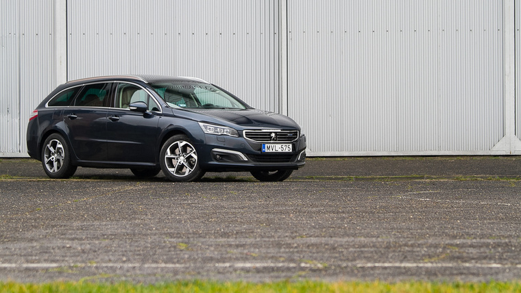 Peugeot 508 – A megjelenésekor mondtuk ki, hogy a Peugeot minőségérzetben beérte a német autókat