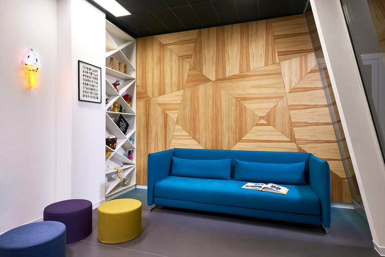 Ez az ACG kreatív igazgatói szobája.