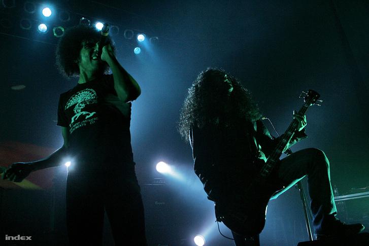 Az Alice in Chains 2009-ben a Petőfi Csarnokban