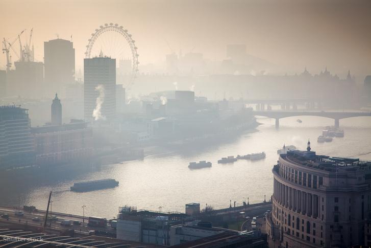 Londonon ül a szmog