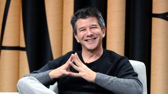 Lelép az Uber igazgatótanácsából a cég botrányhős alapítója