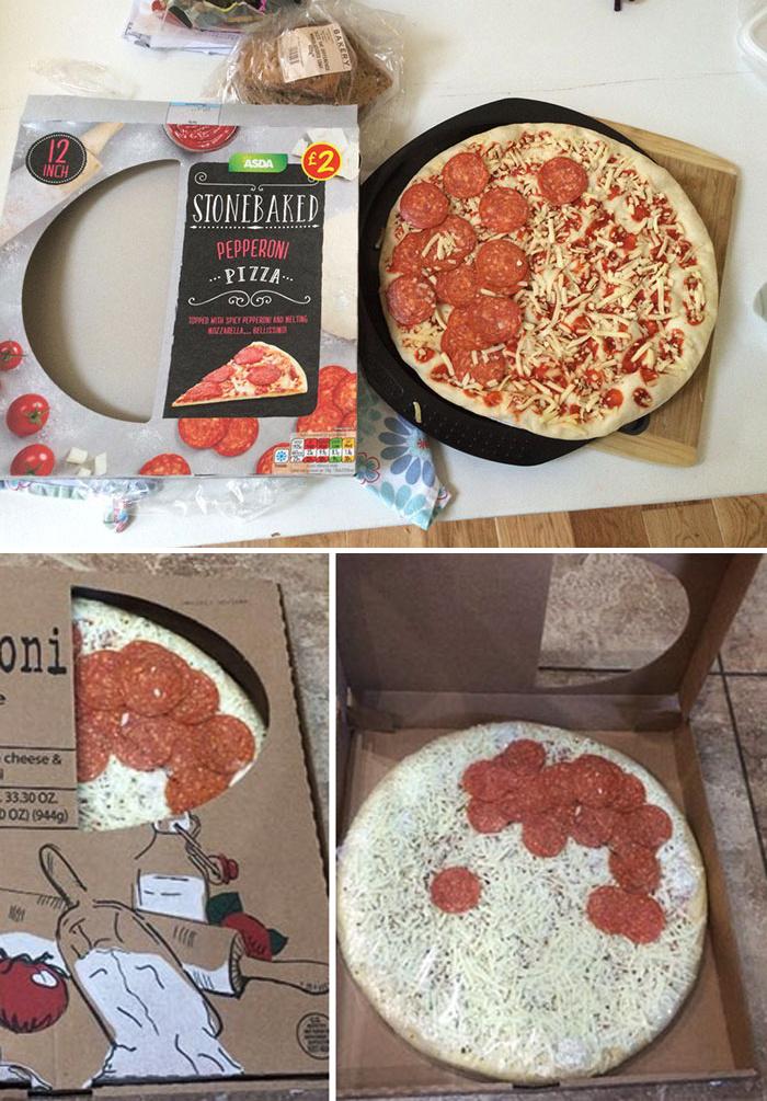 Végre egy pizza, rengeteg feltéttel! Ja, mégsem...