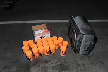 A járműben több táskányi robbanóanyagot hagyott a gyilkos.