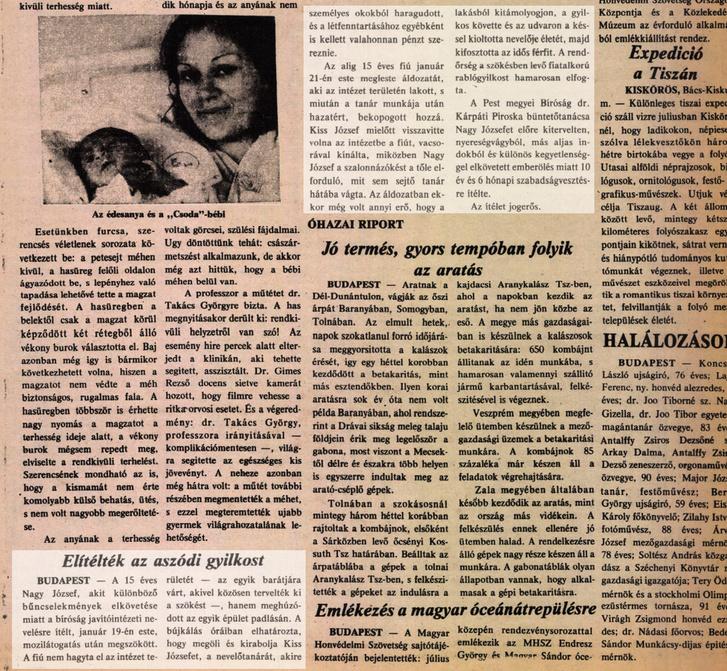 Amerikai Magyar Népszava – 1981. július 10., Péntek,