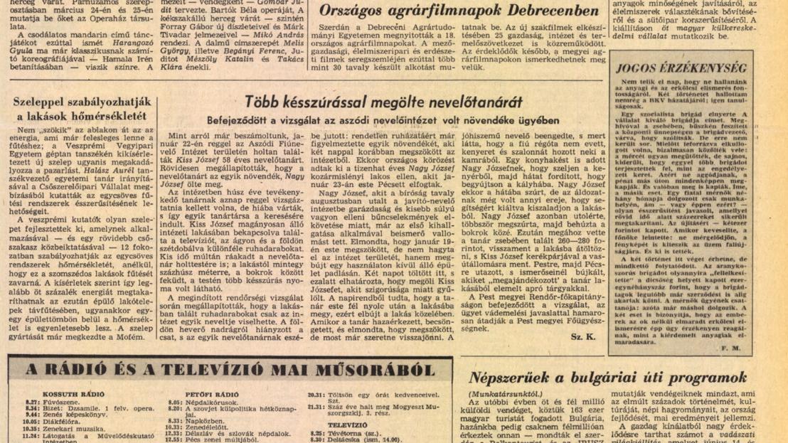 Népszabadság – 1981. február 19., csütörtök