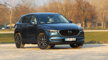 Teszt: Mazda CX-5 G194 Revolution Top AT AWD – 2018.