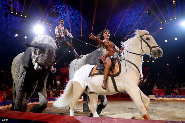 Richet Merrylu és József a Monte Carló-i Cirkuszfesztiválon