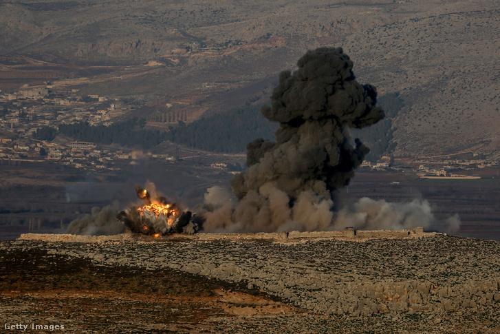 A YPD/PKK megfigyelőállását éri találat január 20-án