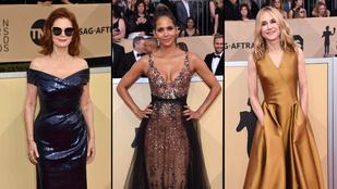 Mindenkinél dögösebbek voltak az 50 feletti színésznők a SAG-díjátadón