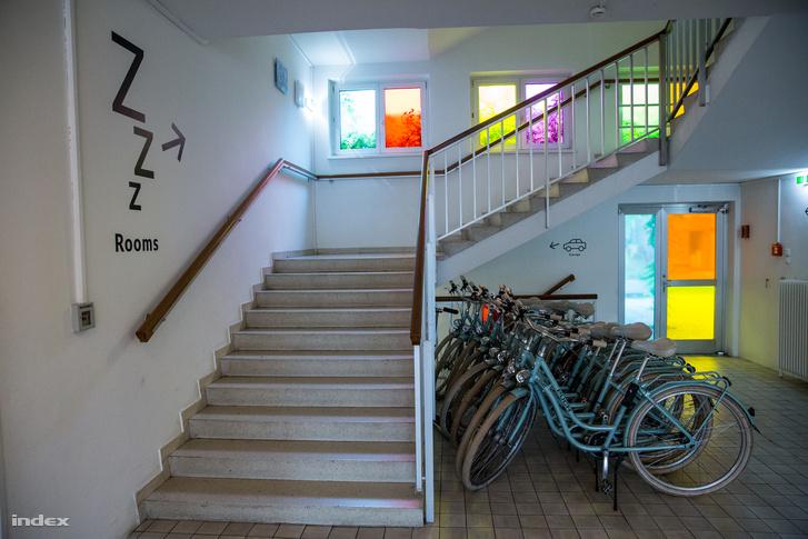 Bécsi dizájnerek bevonásával alakították át a szállodát, ami korábban idősek otthona volt.