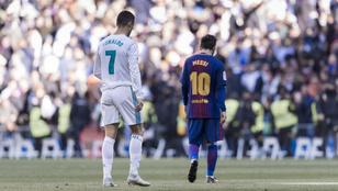 Ronaldo egy szóval elintézte Messit