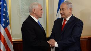 Pence: 2019 végéig átköltözik a nagykövetség Jeruzsálembe