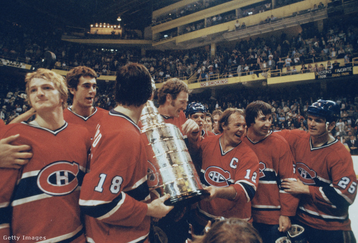 Montreal Canadiens a kupával 1978-ban