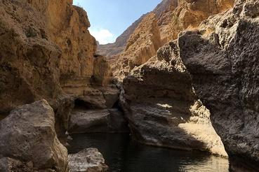 A Wadi Shab olyan, mint amit rajzoltak