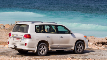 Joy of Driving: Toyota Land Cruiser GXR 2015.