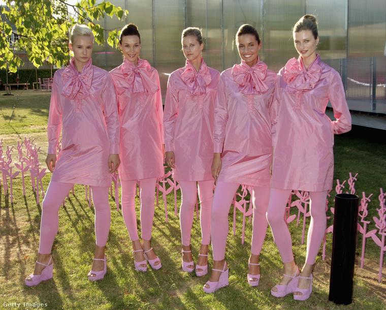 Bizony, már 2006-ban is ment egy nagyot a rózsaszín