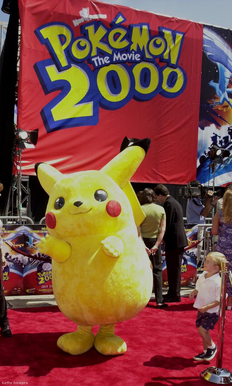 Hát természetesen Pikachura, a legismertebb Pokémonra!