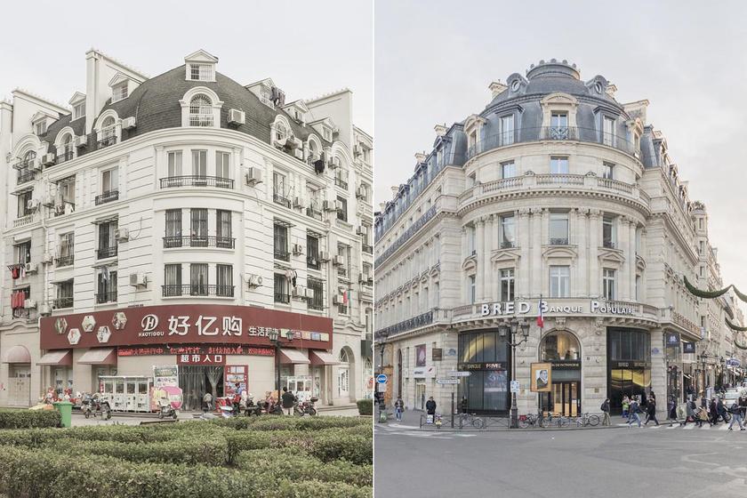 Mint két tojás - Tianducheng épületei kísértetiesen hasonlítanak Párizséihoz.