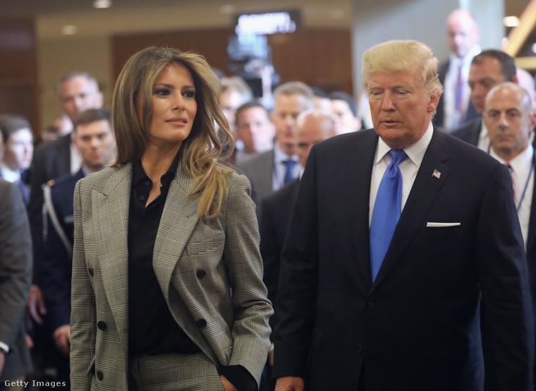 Trumpné már tavaly szeptemberben is zakót viselt New Yorkban.