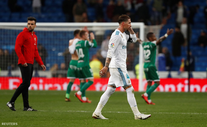 Sergio Ramos Madrid-kapitány a vereség után