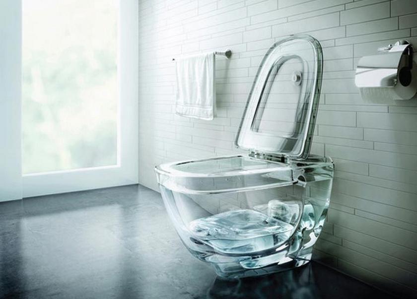 Érdekes találmány, bár csak akkor mutat jól, ha víz van benne.