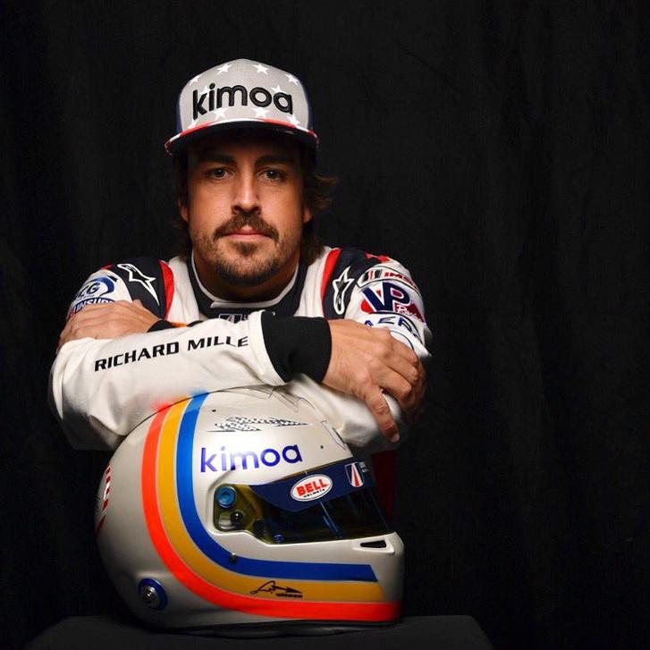 Alonso a daytonai szerkójában