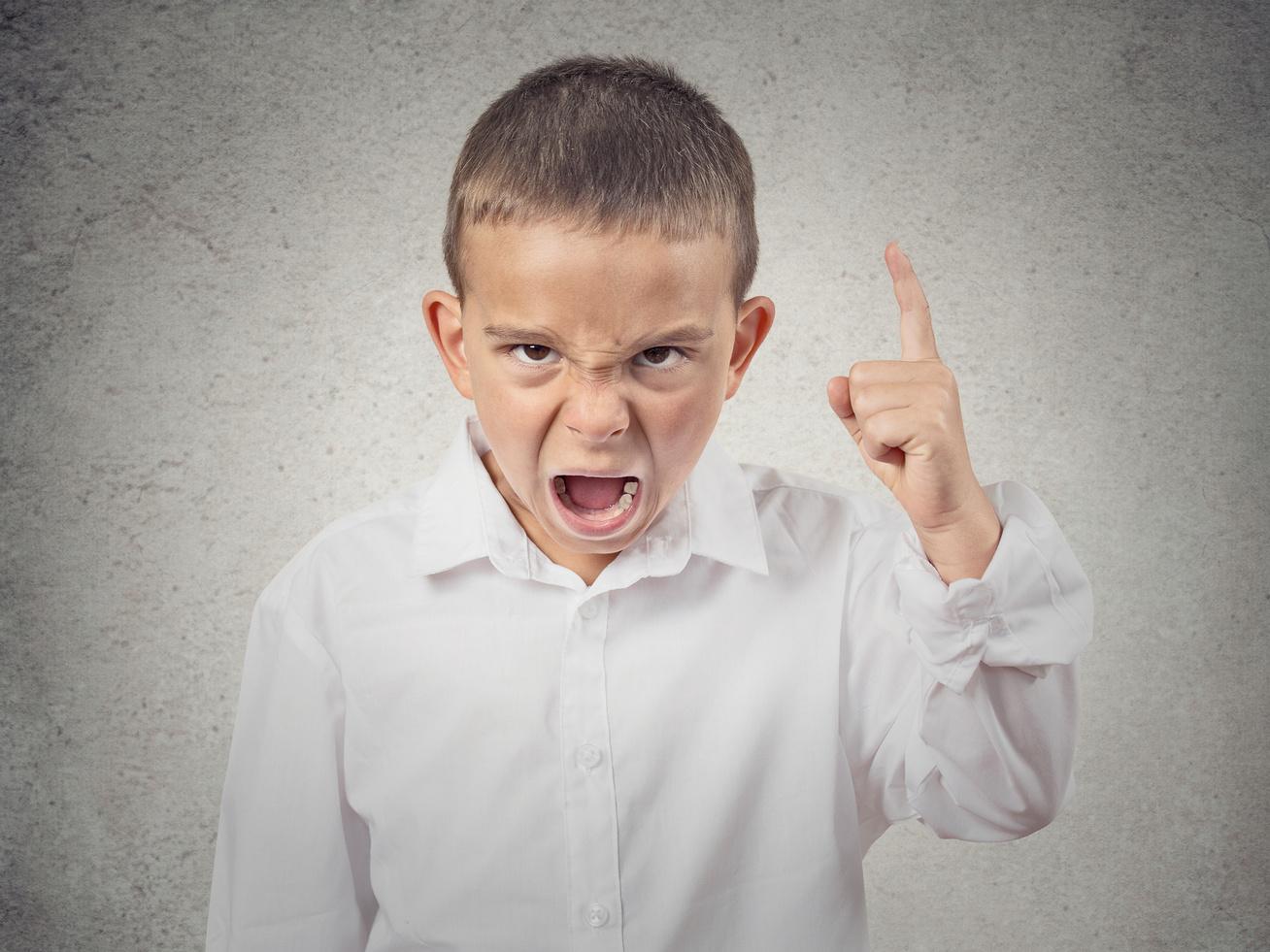 mérges gyerek