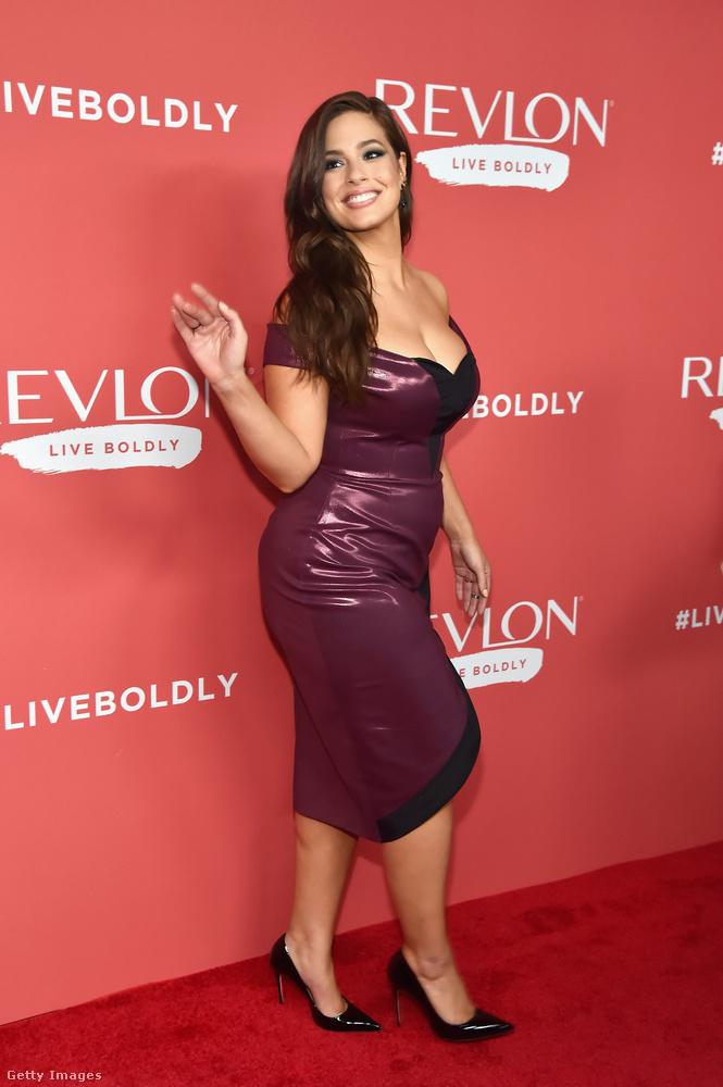 A Revlon nevű kozmetikumcég partit rendezett szerda este New Yorkban