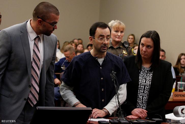 A vádlott, Larry Nassar