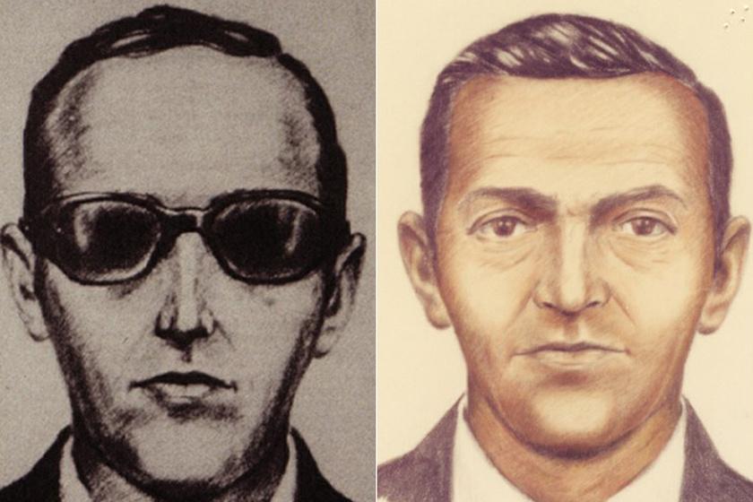 A szemtanúk leírása szerint így nézett ki Dan Cooper.