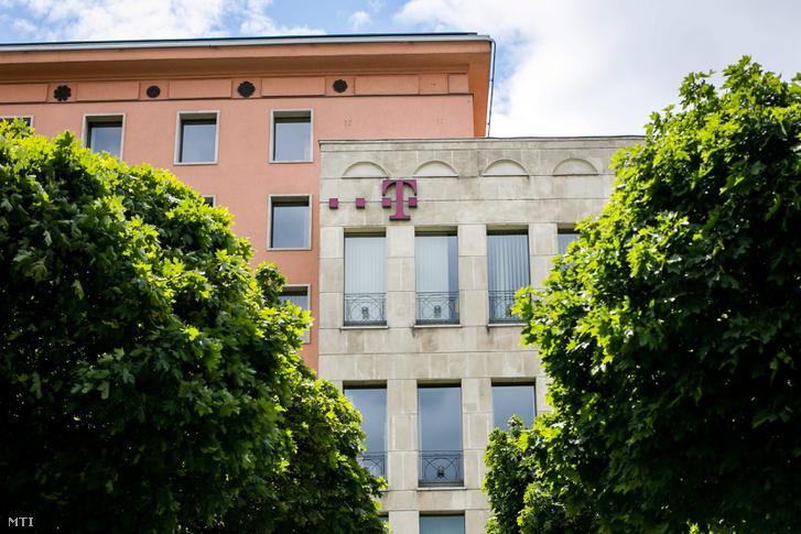 A Magyar Telekom székháza Budapesten a Krisztina körúton.