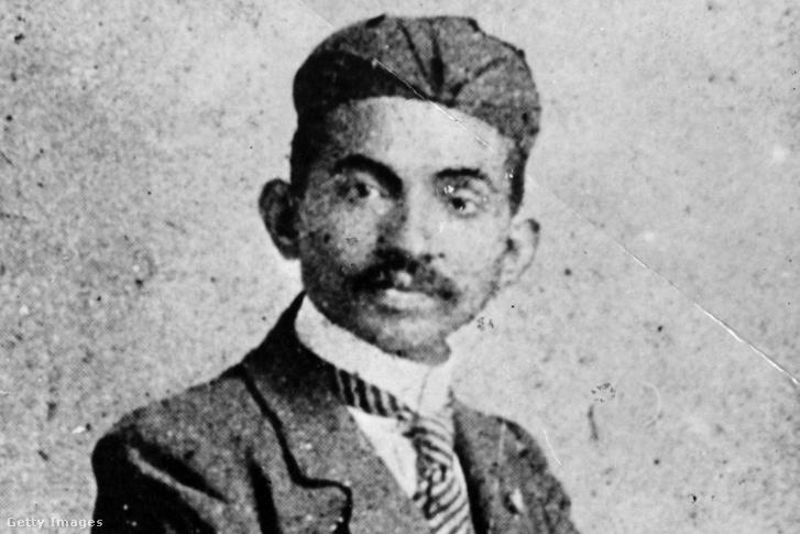 Gandhi fiatal ügyvédként