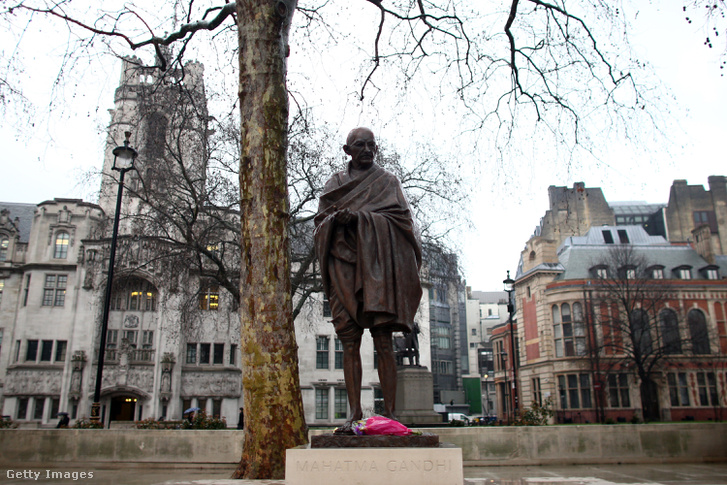 Mahatma Gandhi szobra Londonban