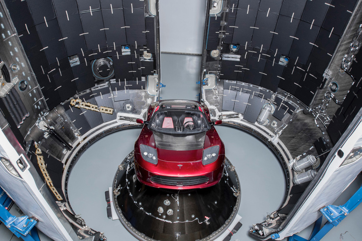 Falcon Heavy Demo Mission – Tesla Roadster