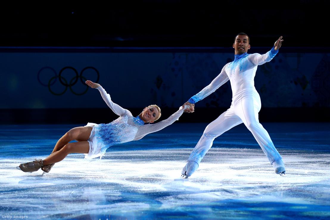 A német páros a 2014-es szocsi olimpián