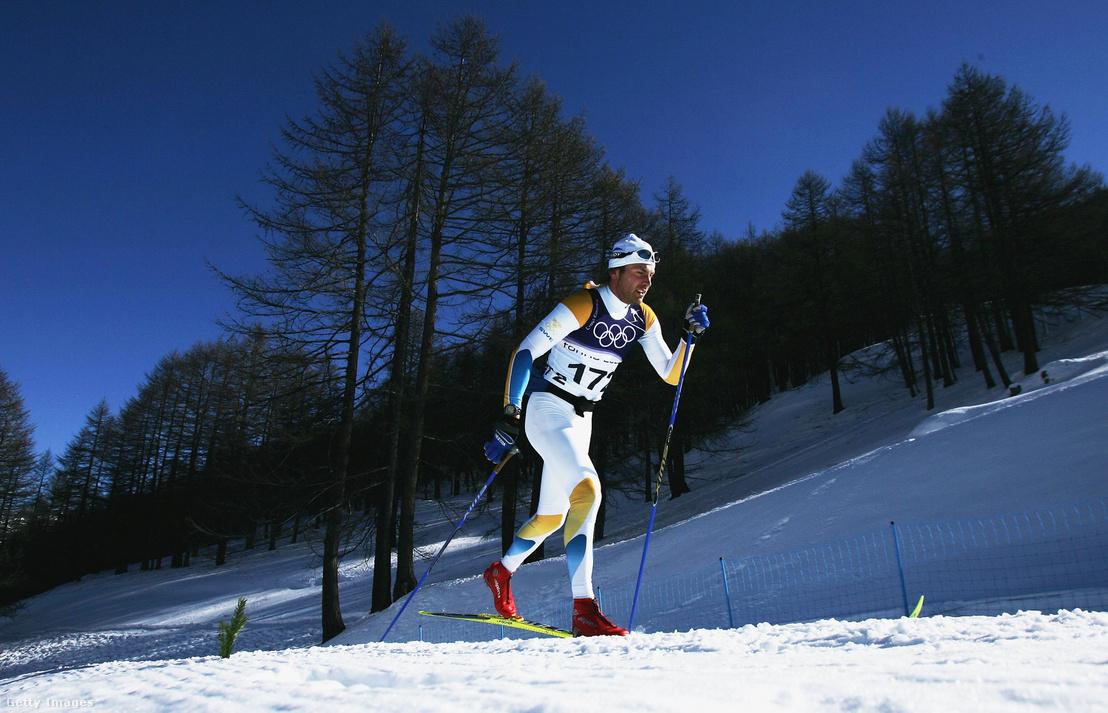Peter Larsson edz a 2006-os téli olimpia előtt