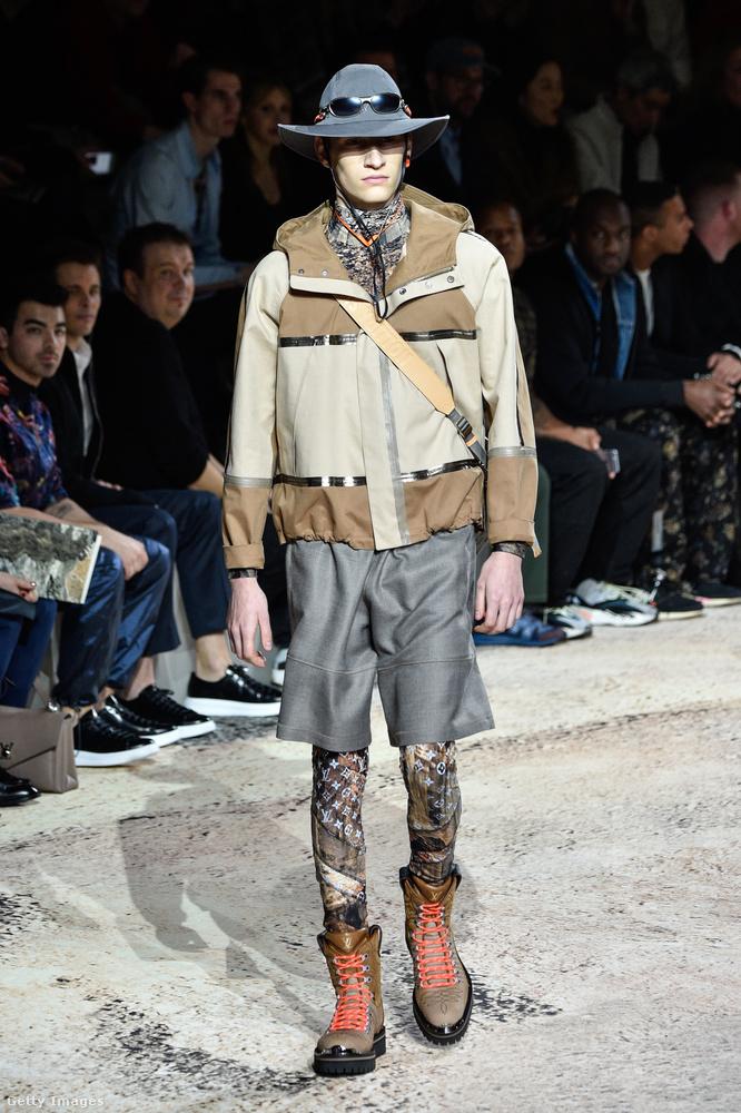 A  Louis Vuitton szerint még idén is divatos lesz a túrázónak álcázott kőgazdag jelenség.