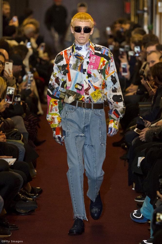 Vajon a Vetements-nak sikerül ezt a frizurát visszahoznia a divatba?
