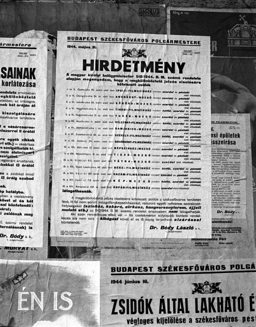 Aki olyan moziba vagy szórakozóhelyre látogatott el zsidóként, ami nem szerepelt az alábbi listán, 15 napig terjedő elzárással számolhatott.