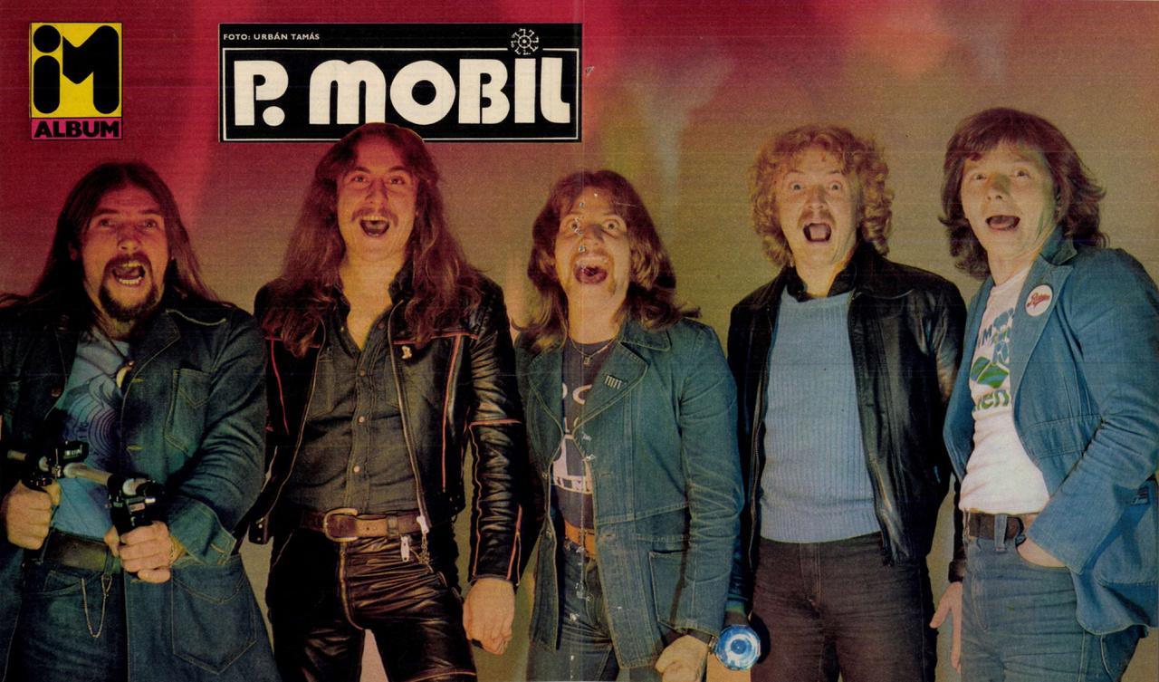 Nem úgy, mint a bűnbakként kezelt P. Mobilnak. A nagy népszerűség ellenére Schuster Lóriéknak tíz évig kellett várni, mire az MHV 1981-ben végre kiadta az első nagylemezüket - ekkor jelent meg az IM-ben is ez a poszter.