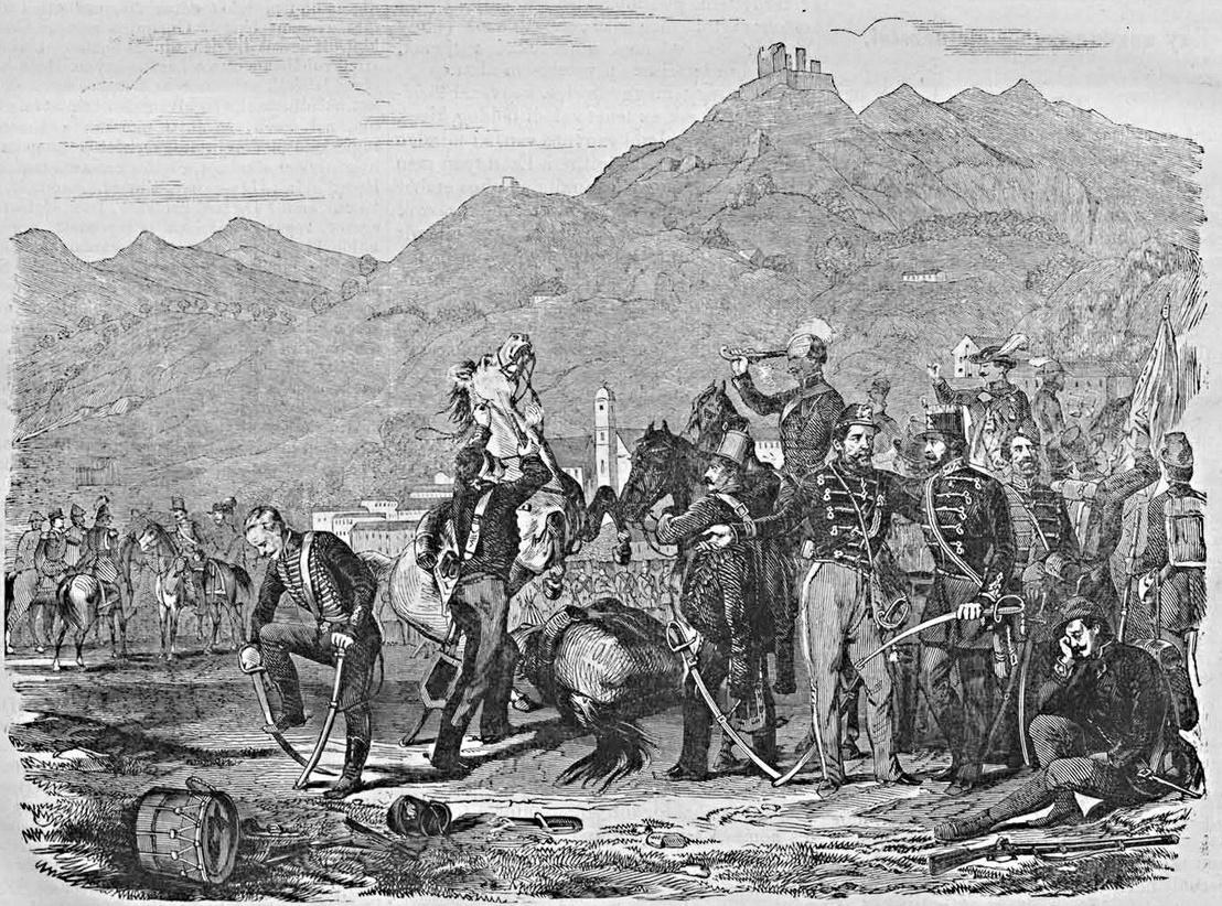 A világosi fegyverletétel a Vasárnapi Újság 1869. augusztus 15-i számában