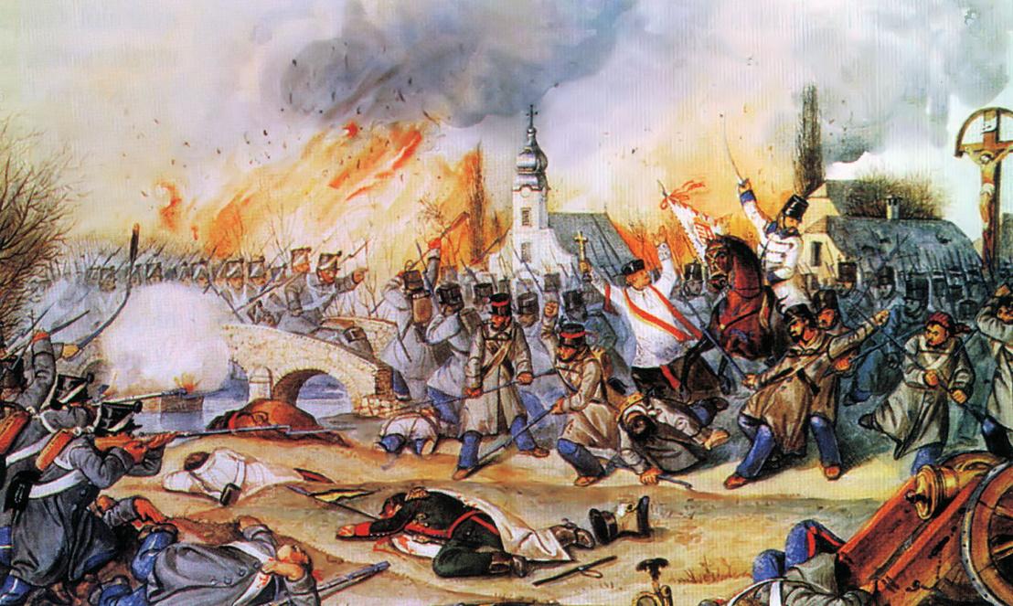 A kápolnai csata egy jelenete Than Mór festményén