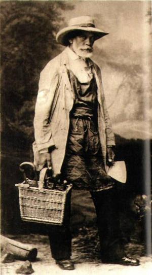 Az idős Görgei kertészkedéssel és szőlészettel foglalkozott Visegrádon