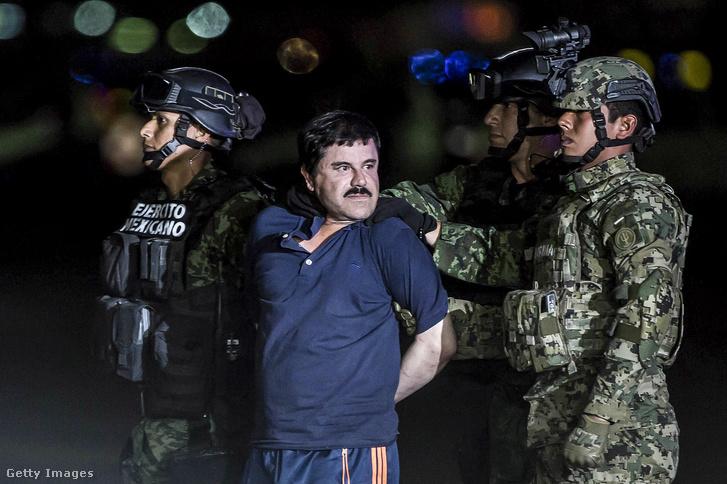 Guzmán 2016-os elfogásakor