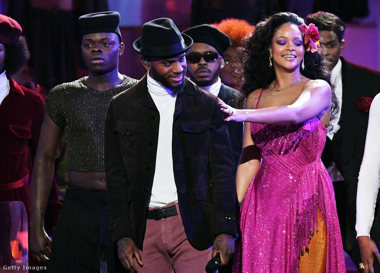 De nem ez volt Rihanna nagy pillanata.