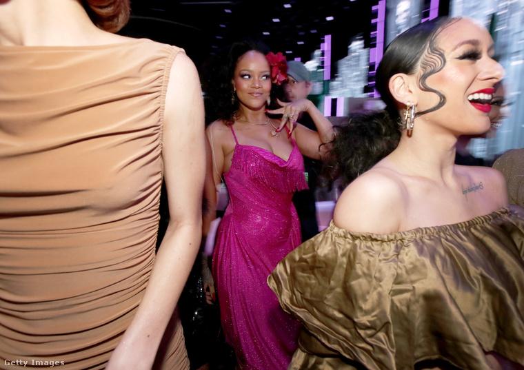 Viszont volt a gálának egy olyan eleme, amit úgy hívtak, hogy Rihanna.
