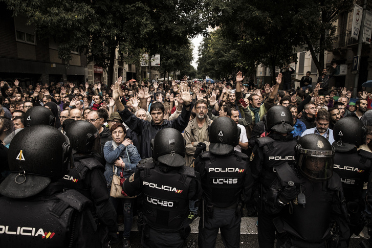 Képriport, 1. díj: Katalán függetlenedés