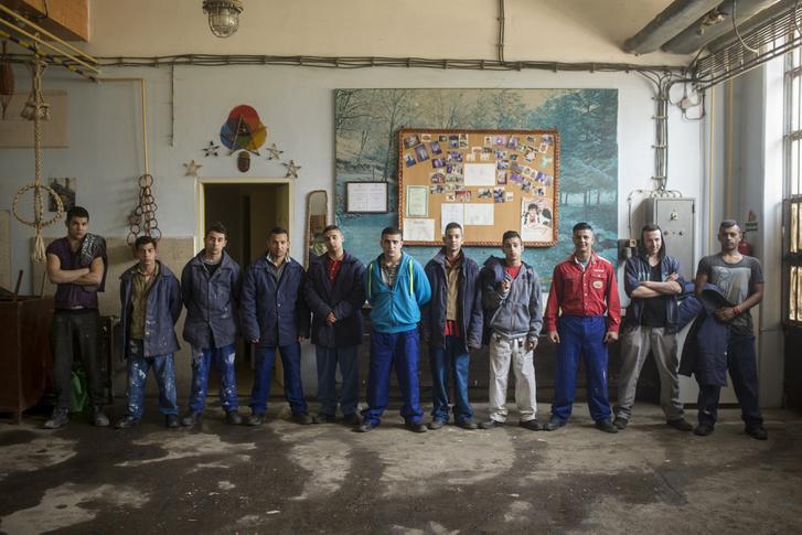 Társadalomábrázolás, dokumentarista fotográfia (egyedi), 1. díj: Az Aszódi javítóintézet